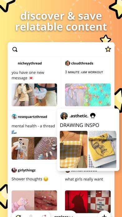 Yada - Make & share threads screenshot one