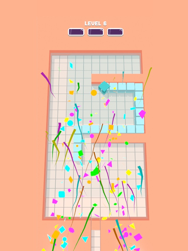 BlockSnake3D, game for IOS
