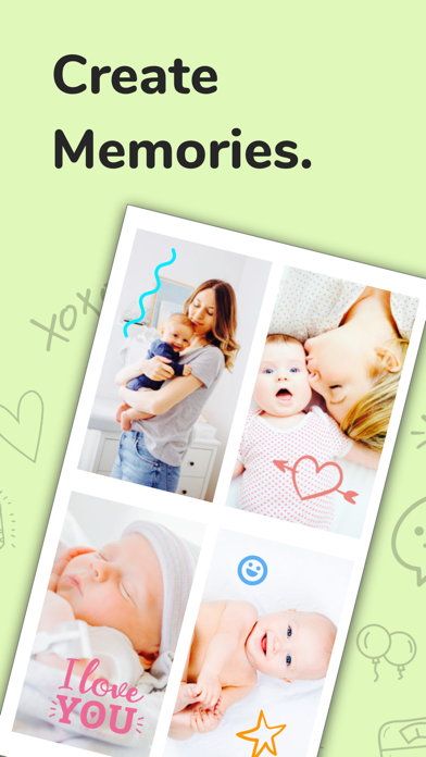 Baby + Pregnancy Collage Maker screenshot 6