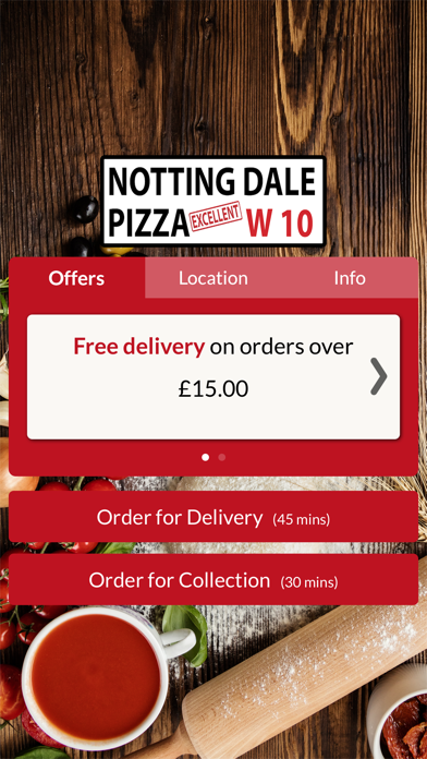 Notting Dale Pizza screenshot one