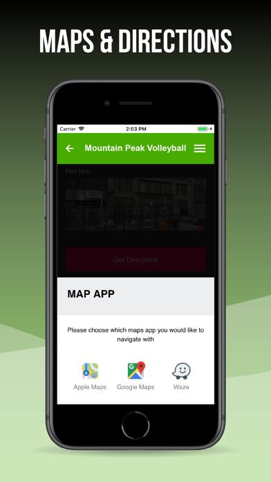 Mountain Peak Volleyball screenshot three