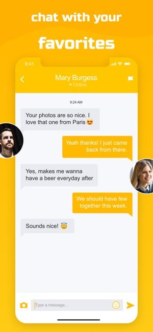 Yellow Rose - Dating App en App Store