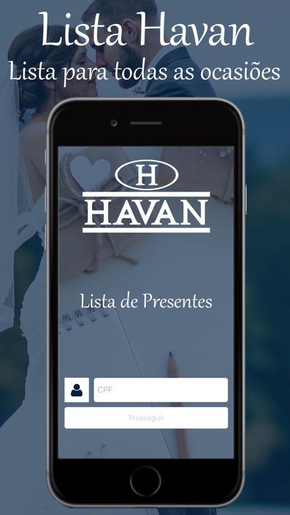 Lista de Presentes Havan