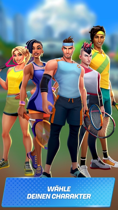 Herunterladen Tennis Clash: Spiel der Meiste für Android
