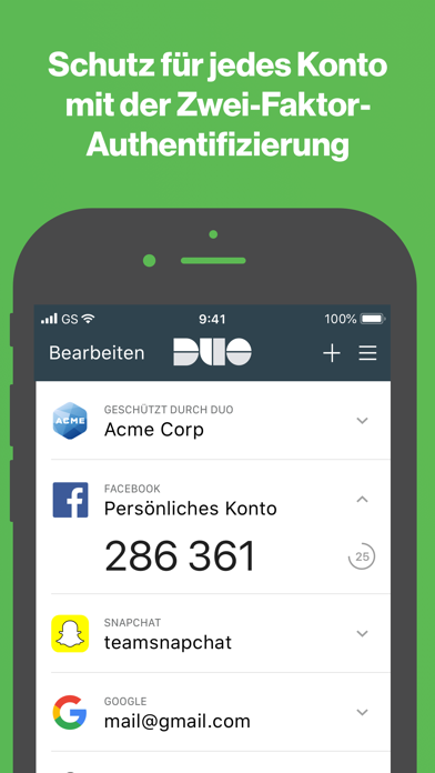 Screenshot for Duo Mobile in Austria App Store