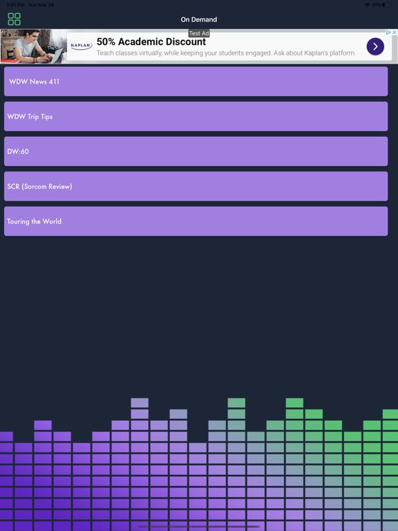 Sorcerer Radio - Disney Park Music screenshot