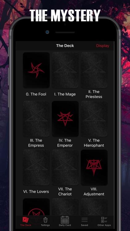 Satanic Tarot for the damned