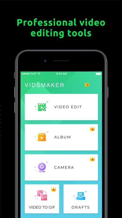 VidsMaker - Video Editor screenshot-0