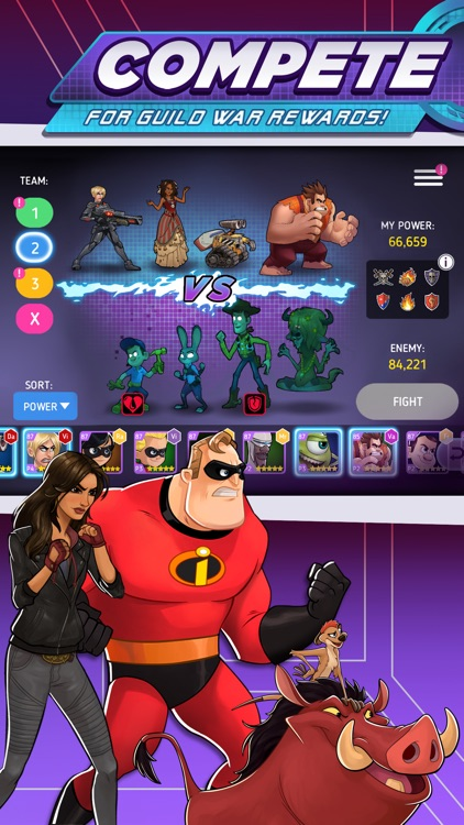 Disney Heroes: Battle Mode screenshot-4