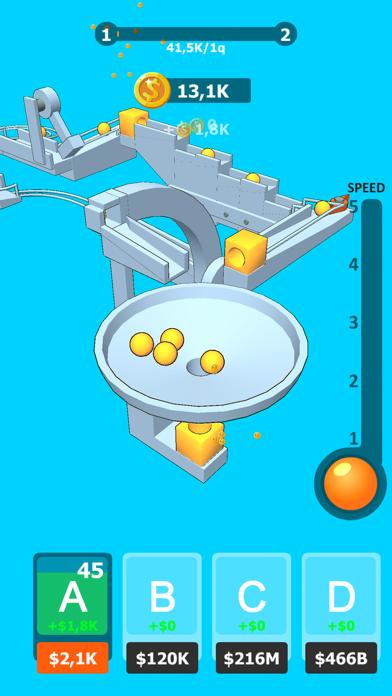 Balls Rollerz Idle 3D Puzzle screenshot 1