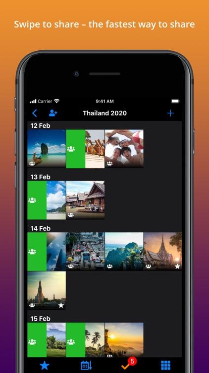 TripUp – Private Photo Sharing screenshot-3