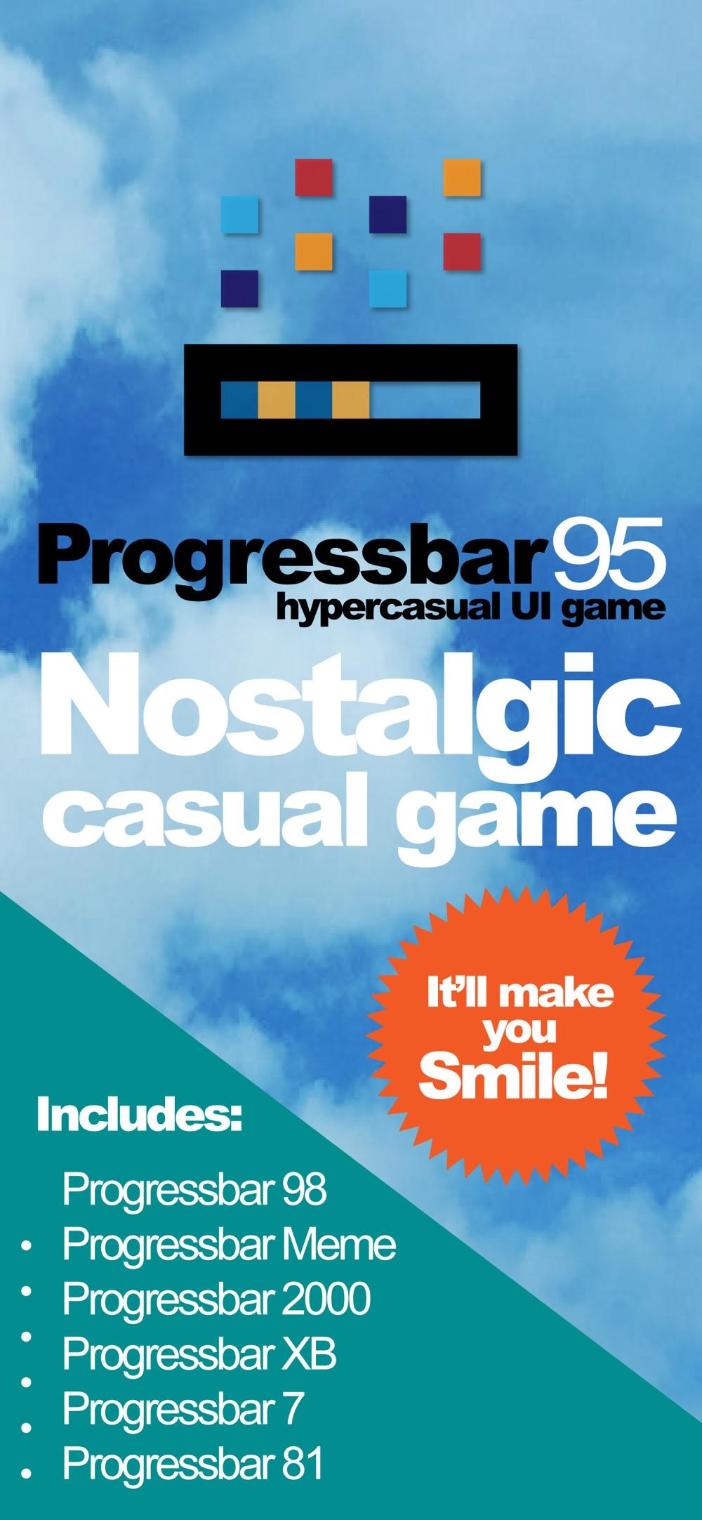ProgressBar95 – retro arcade Cheat Codes
