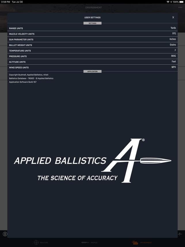 Bushnell Ballistics on the App Store