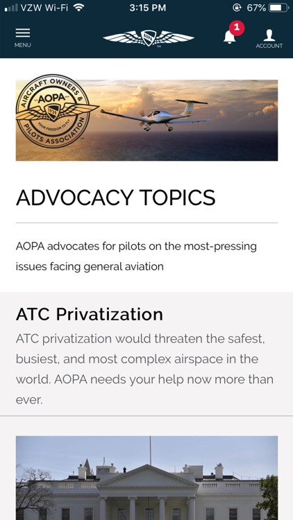 AOPA screenshot-0