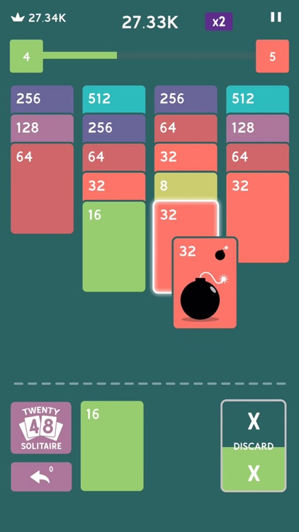 Twenty48 Solitaire screenshot-4