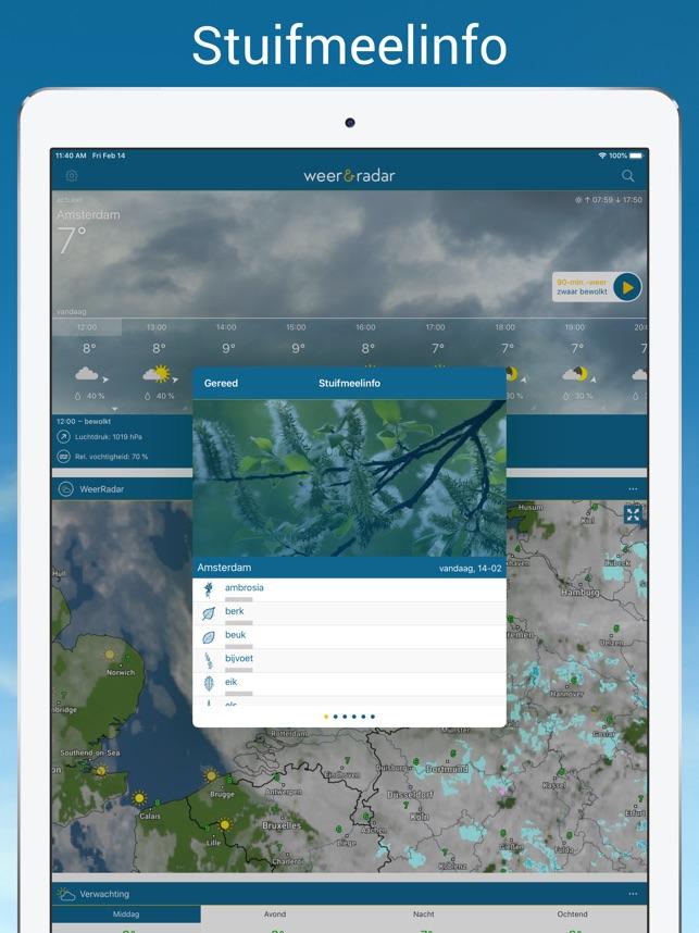 Weer & Radar - regenradar in de App Store