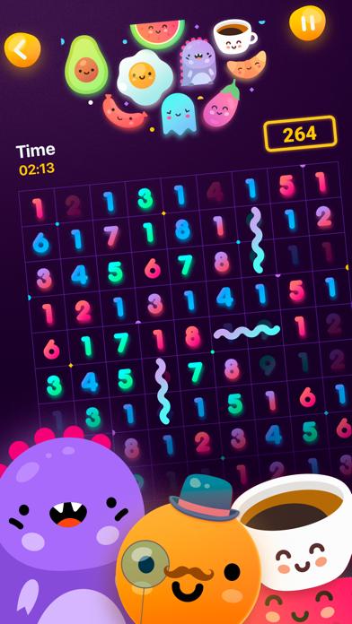 Numberzilla - Number Math Game screenshot 1