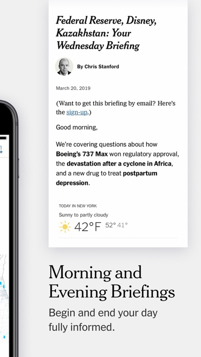 Screenshot for The New York Times in Peru App Store