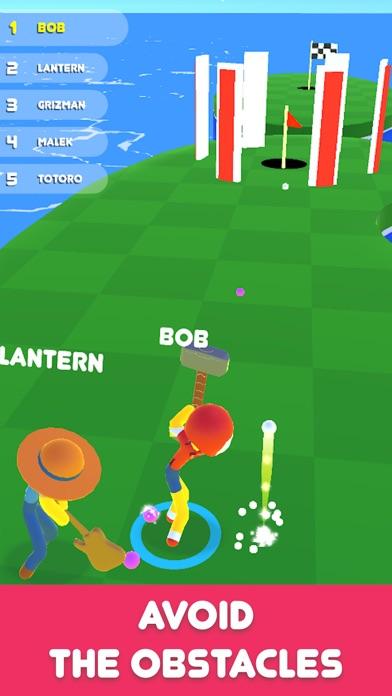 Golf Race Screenshot on iOS