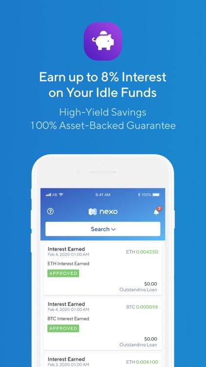 Nexo - Crypto Banking Account screenshot-5