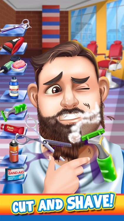 Shave Salon Spa Games screenshot-0
