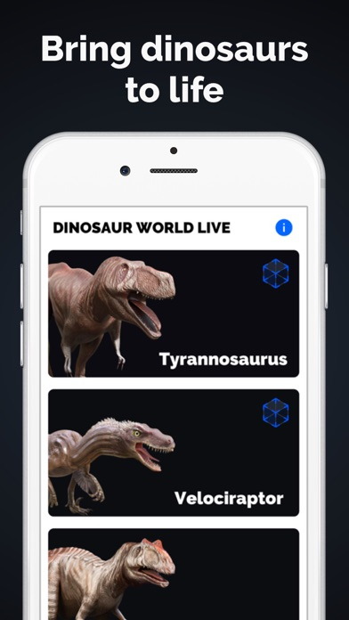 Dinosaurs in AR: Evolution screenshot three