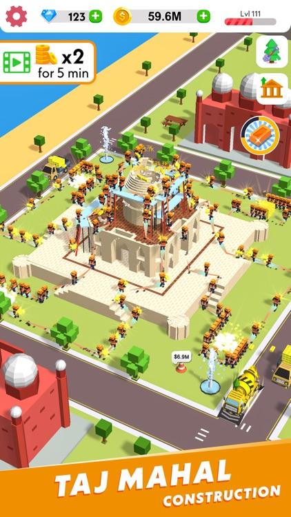 Idle Construction 3D screenshot-4