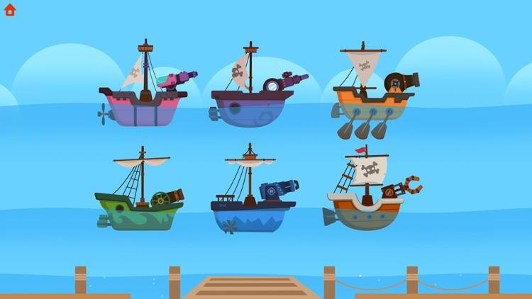 Dinosaur Pirates - Kids Games screenshot-8