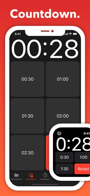 seconds pro interval timer on the app storeSeconds Timer For Interval Training Circuit Training Hiit Tabata #14