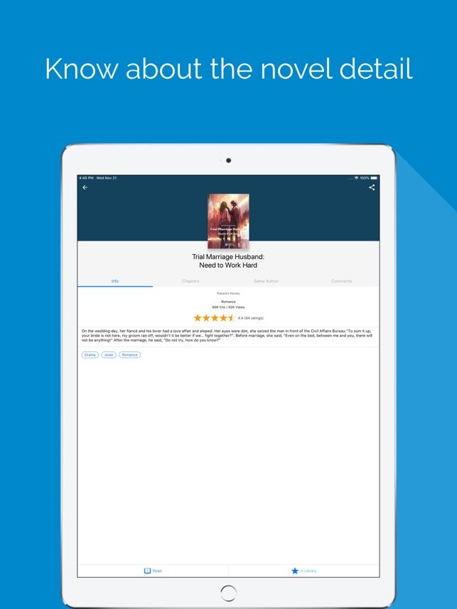 NovelFull - Read novel offline on the App Store