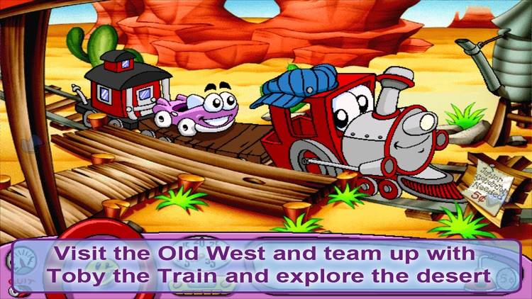 Putt-Putt Travels Through Time screenshot-3