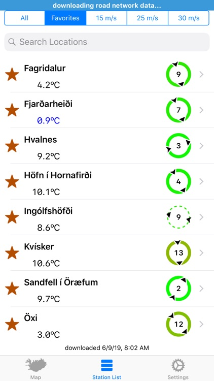 Road Weather Iceland