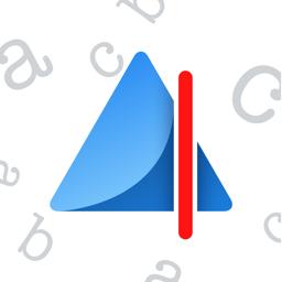 Ícone do app Prizmo Go › Capturar o texto