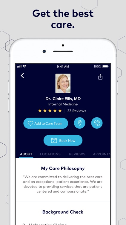 Healthgrades Care Organizer