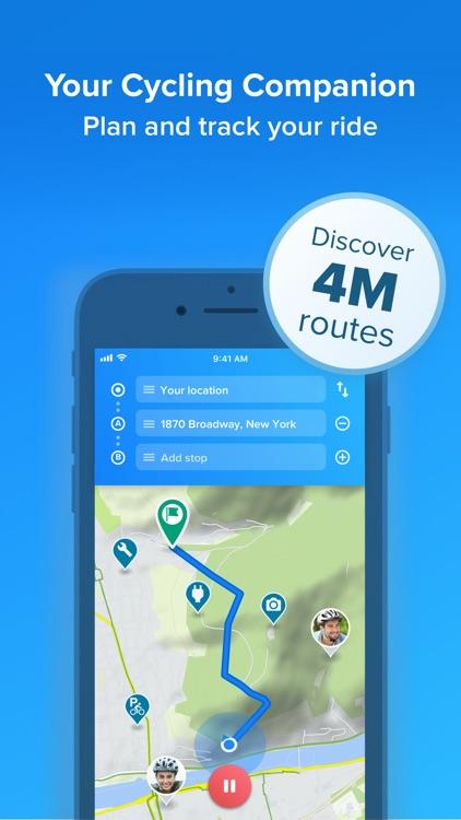Bikemap - Cycling Map & GPS screenshot-0