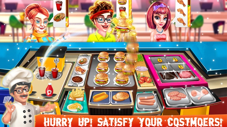 Crazy Chef Cooking Game