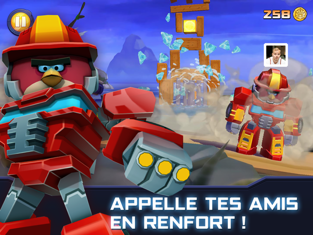 ‎Angry Birds Transformers Capture d'écran