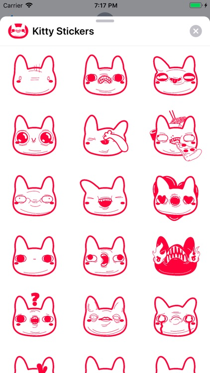 Kitty-Stickers