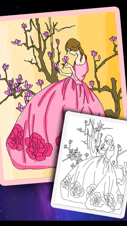 Bejoy Coloring Princess Fairy screenshot-4
