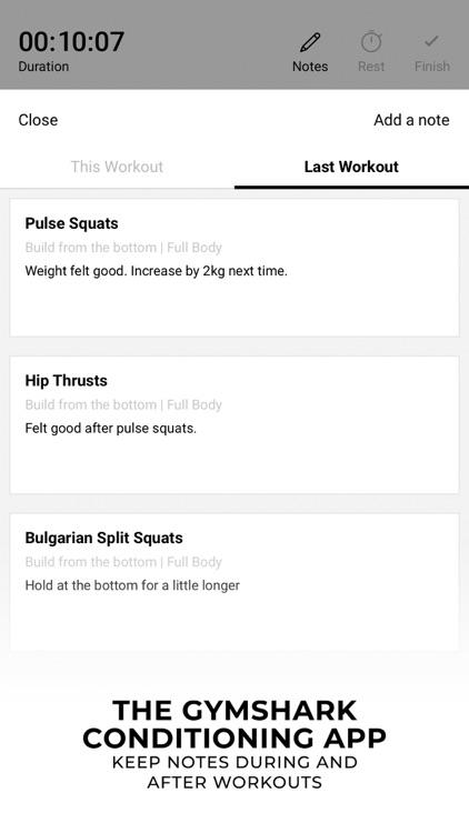 Gymshark   Gym Workout Planner screenshot-3