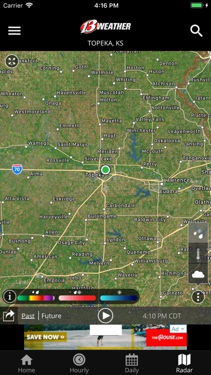 WIBW 13 Weather app screenshot-3