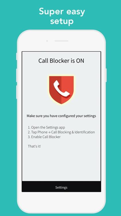 CallBlocker - Bulk block calls screenshot-3