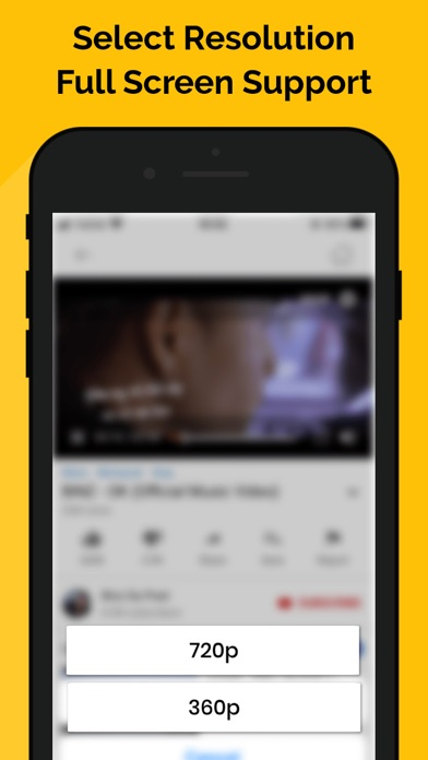 Screen Shot MiniTube - Minimize Player 2