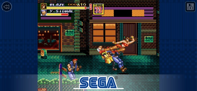 Streets of Rage 2 Classic Screenshot