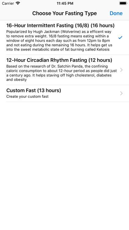 Empty - Fasting Tracker screenshot-4