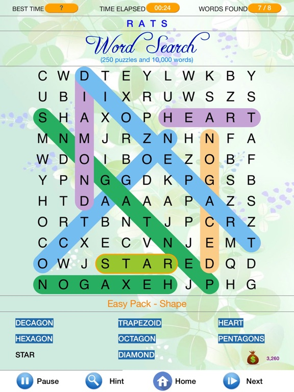 Word Search - Find Crosswords-ipad-0
