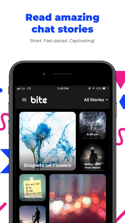 Bite - chat stories by Readify