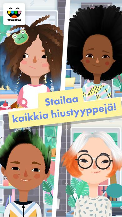 Screenshot for Toca Hair Salon 3 in Finland App Store