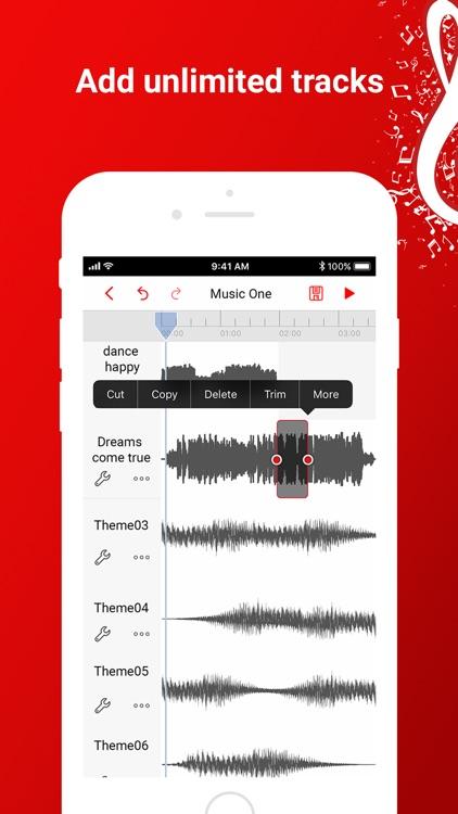 Music Editor: Beat Song Maker screenshot-3