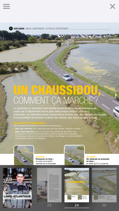 Loire-Atlantique Magazine screenshot four